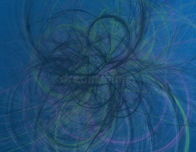 这是混乱的抽象ilustration 库存图片