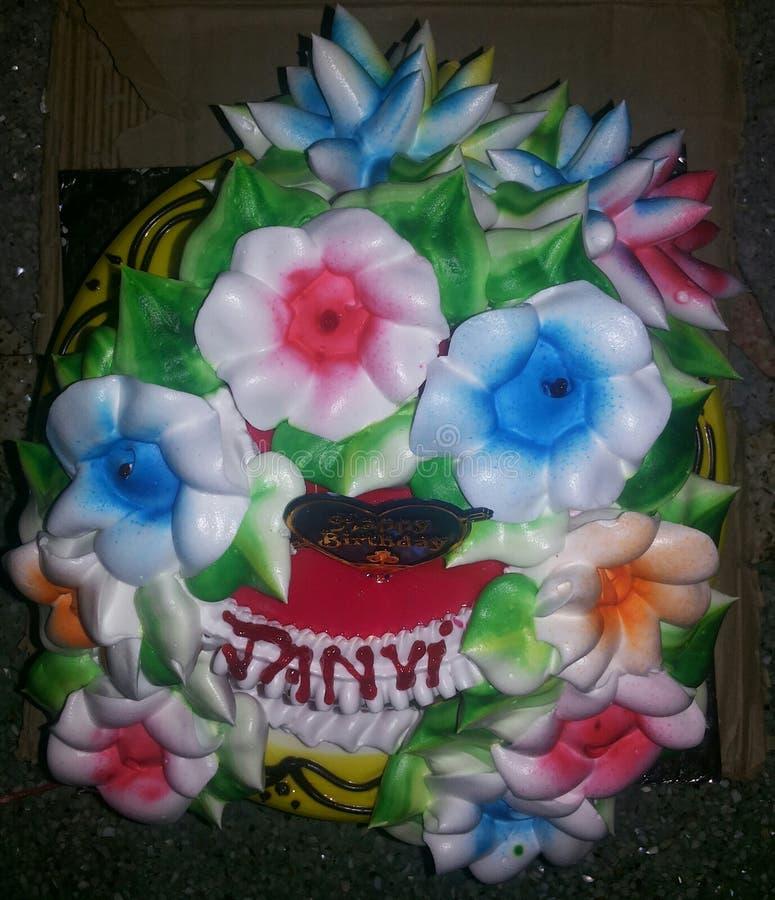 这是生日蛋糕 库存照片