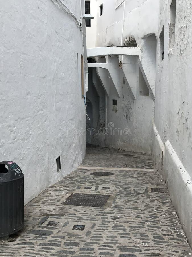 这是Binibèquer村庄 免版税库存照片