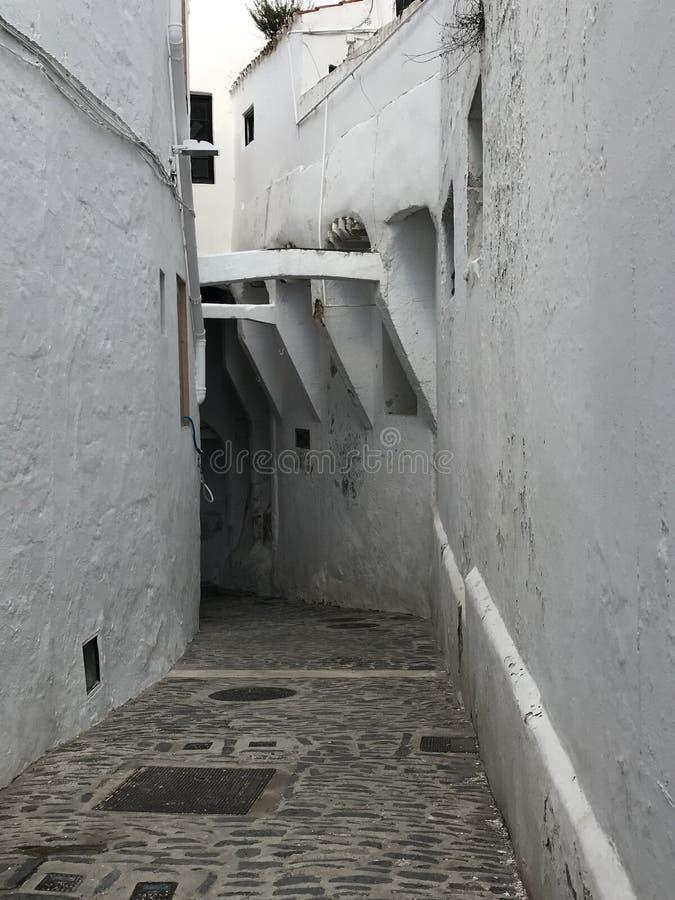 这是Binibèquer村庄 免版税图库摄影