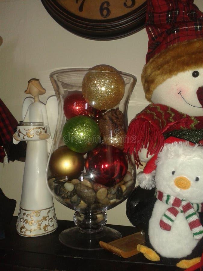 这里圣诞节 免版税库存照片