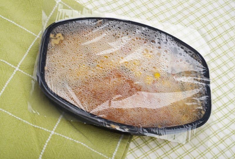 进入鱼冻结的米 免版税库存图片
