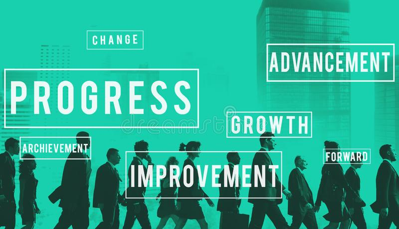 进展发展创新改善概念 库存照片