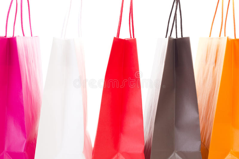 进行购物游览! 免版税库存图片