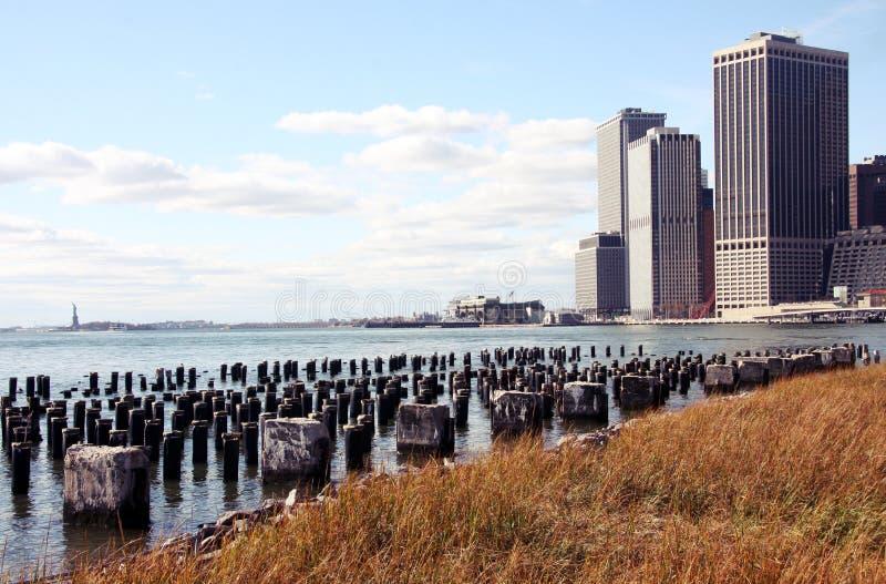 远景de纽约 库存照片