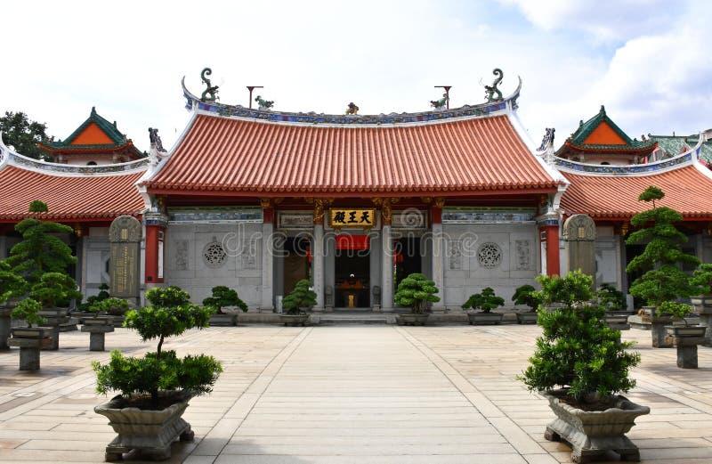 连家单Shuang林寺庙在新加坡 库存图片