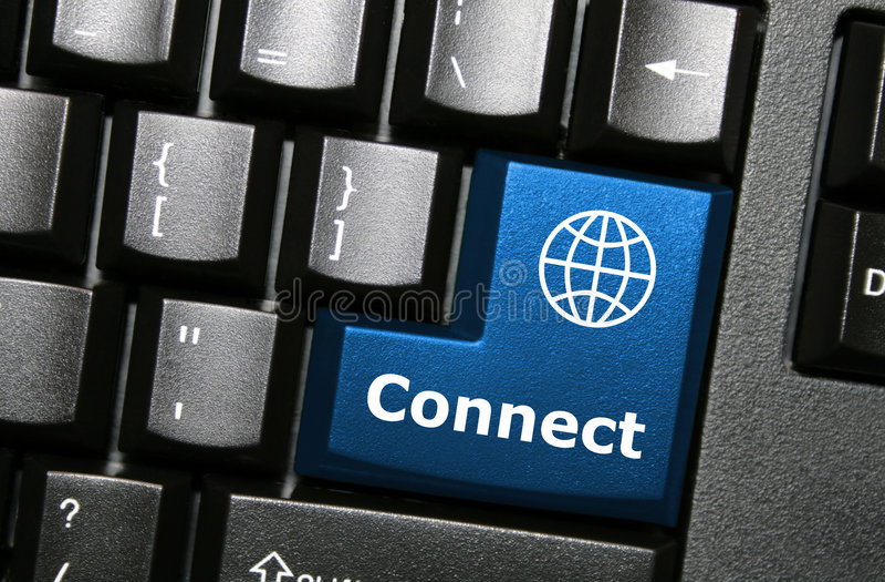 连接关键字 库存照片