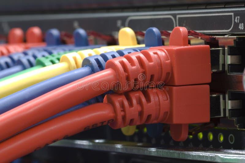 连接数高互联网速度 库存图片