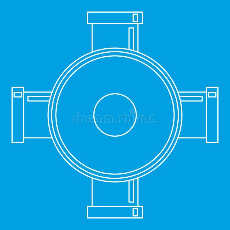 连接用管道输送象,概述样式 皇族释放例证
