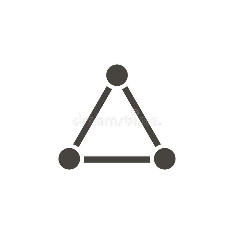 连接,网络传染媒介象 简单的元素illustrationConnection,网络传染媒介象 r 向量例证