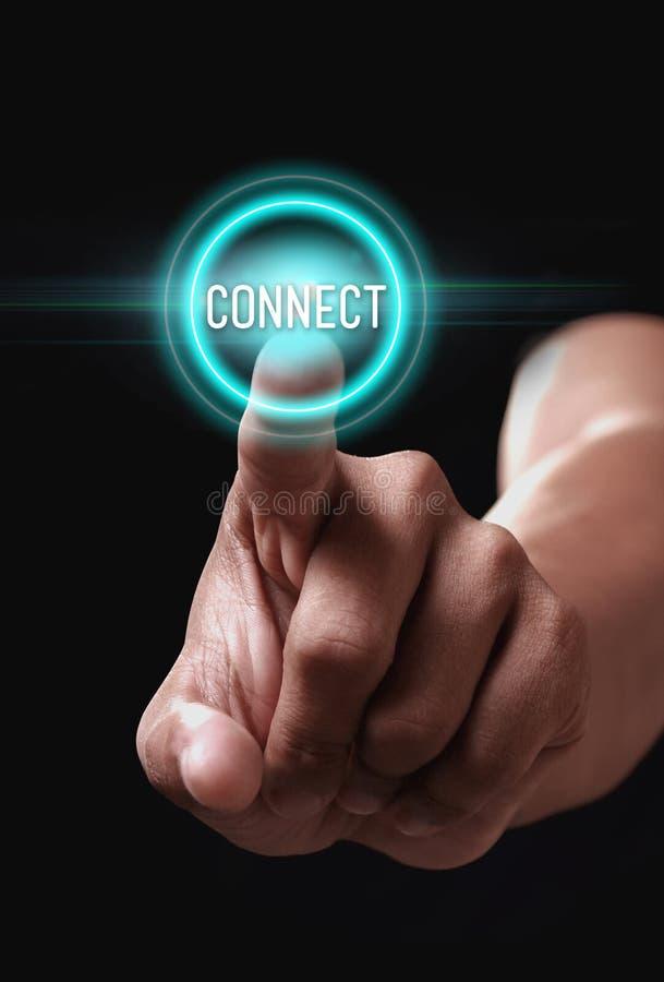 连接 免版税库存照片