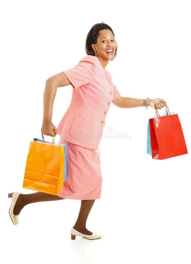 连续销售额购物 免版税库存图片