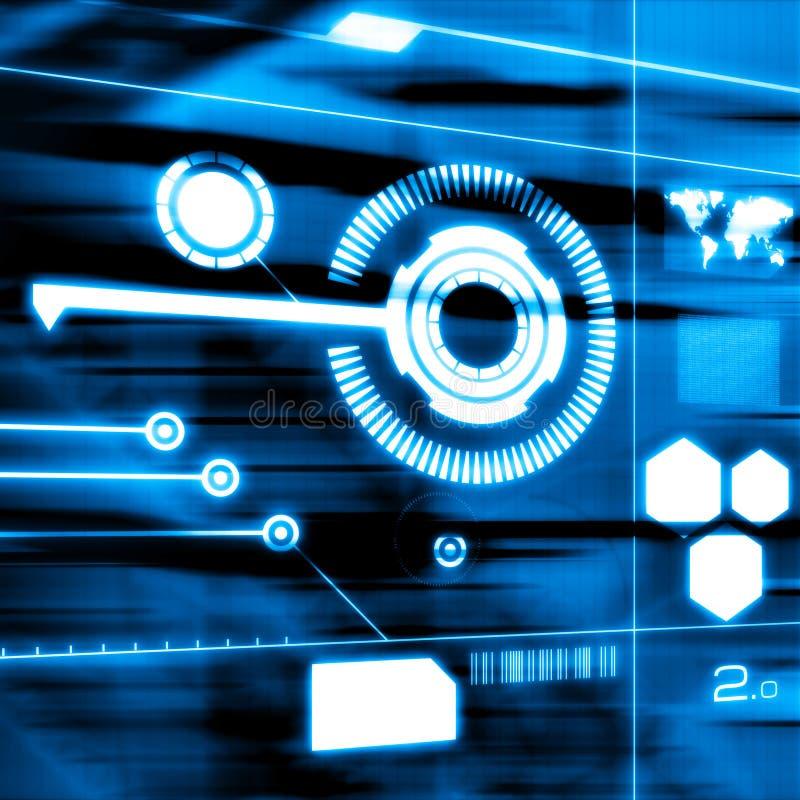 连通性技术 向量例证