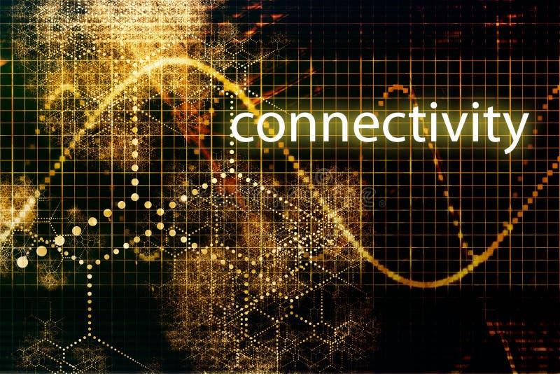 连通性 向量例证