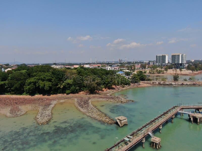 迪克森港,森美兰/马来西亚 图库摄影