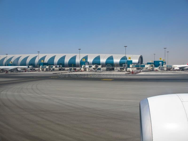 迪拜乘客机场 免版税库存照片