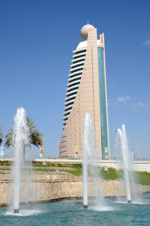 迪拜办公室塔 免版税库存照片