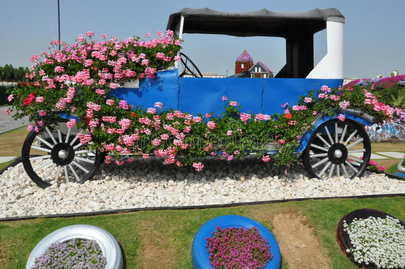 迪拜奇迹庭院在阿拉伯联合酋长国 库存图片