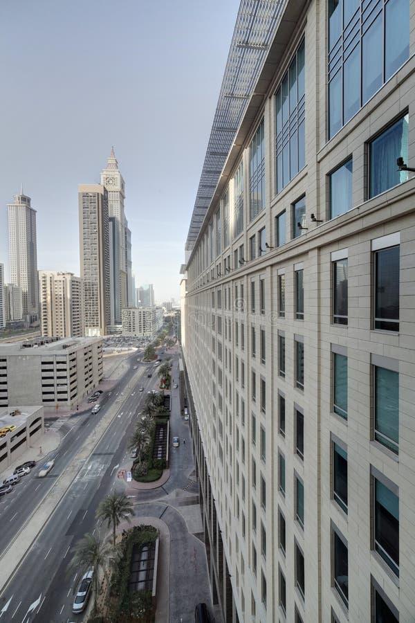迪拜市街市  库存照片