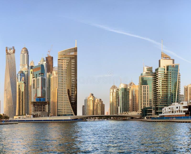 迪拜海滨广场 图库摄影