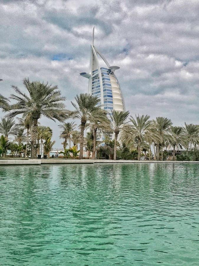 迪拜的豪华 免版税库存照片