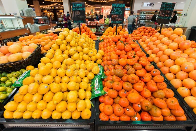 迪拜超级市场Waitrose 免版税库存图片