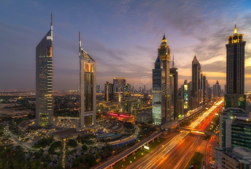 迪拜都市风景 库存照片