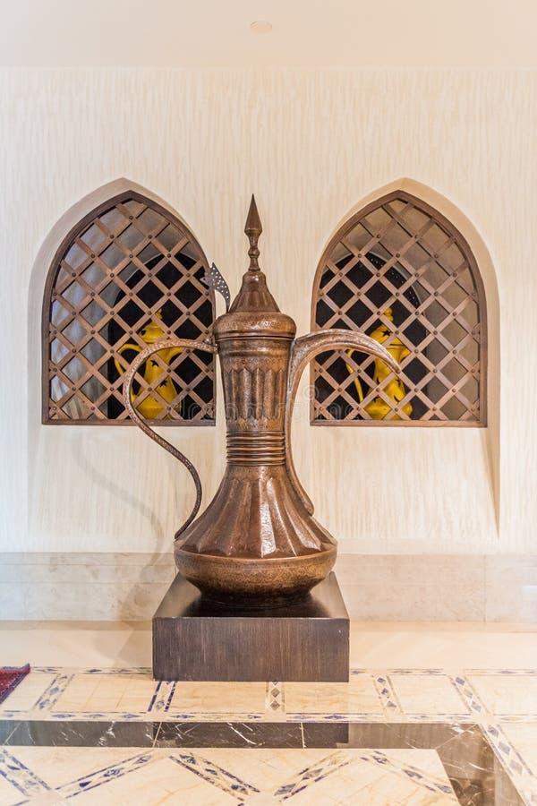 迪拜,阿拉伯联合酋长国- 2016年10月21日:阿拉伯油灯在Madinat卓美亚奢华酒店集团旅馆在迪拜,团结的阿拉伯人Emirat里 库存图片
