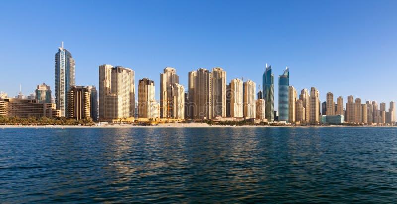 迪拜, Jumeirah海滩住所 库存图片