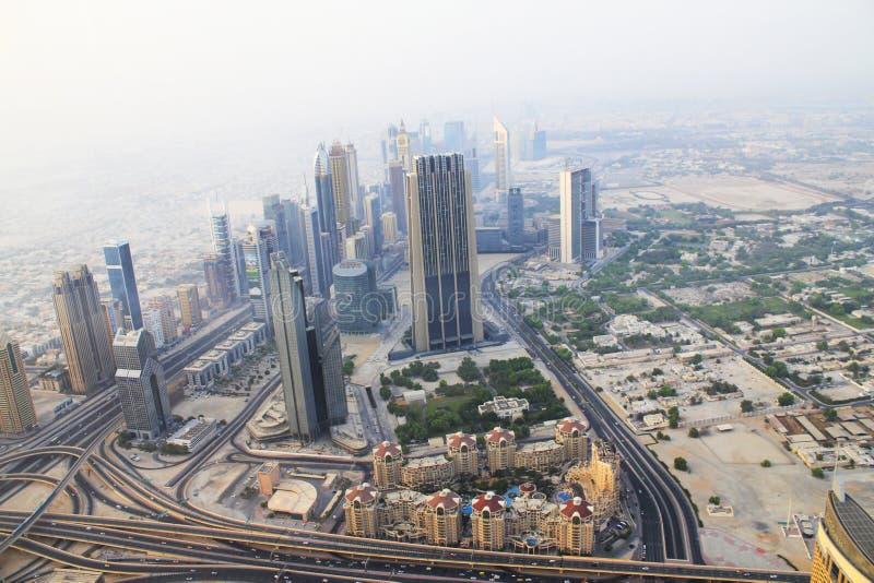 迪拜 burj迪拜khalifa最高的塔阿拉伯联合酋长国世界 高层建筑在世界上 库存照片