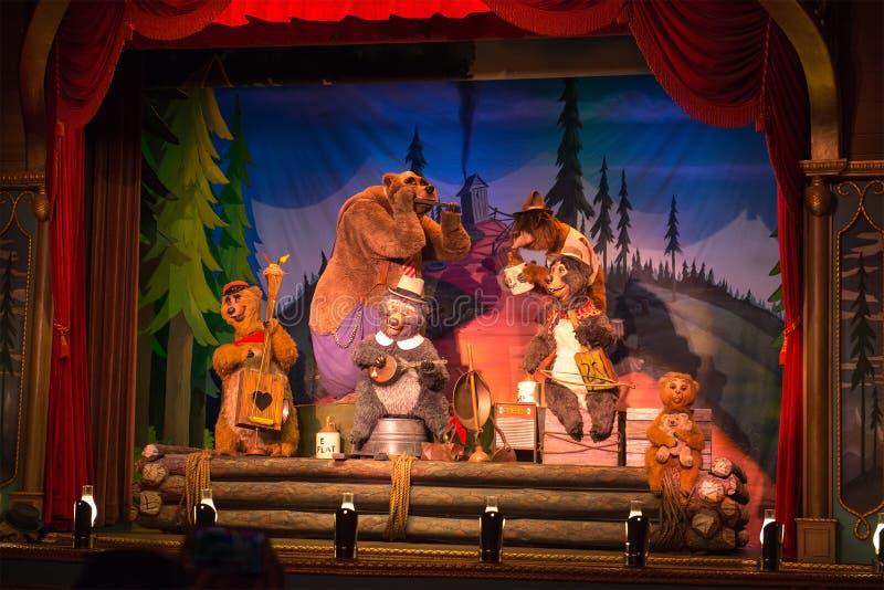 迪斯尼世界国家熊狂欢活动 免版税库存照片