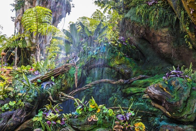 迪斯尼世界奥兰多佛罗里达动物界潘多拉潘多拉 库存图片