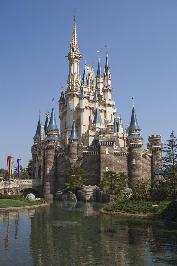 迪斯尼乐园城堡 库存照片