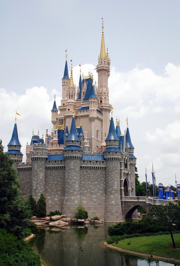迪斯尼城堡在不可思议的王国 免版税图库摄影