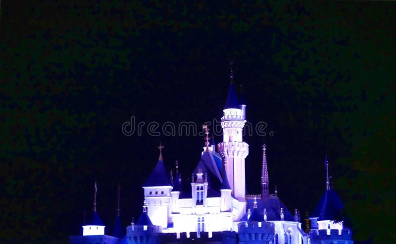 迪斯尼城堡 图库摄影