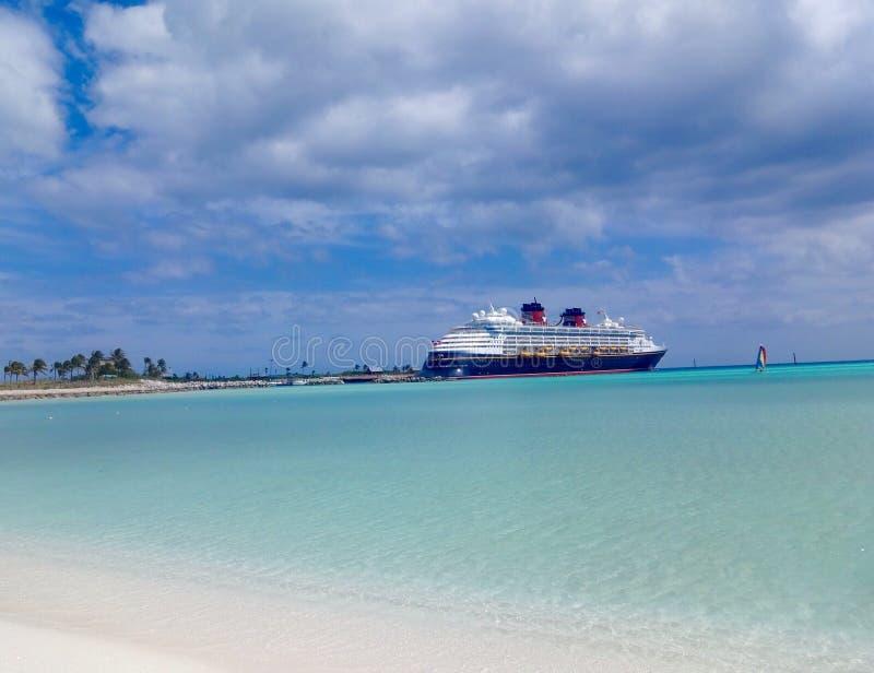迪斯尼巡航巴哈马 库存图片