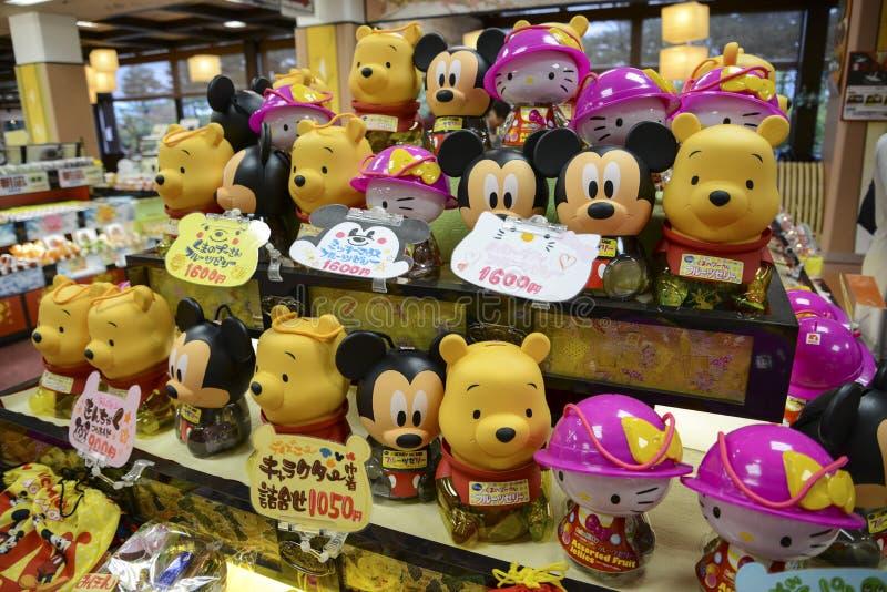 迪斯尼玩具商店 免版税图库摄影