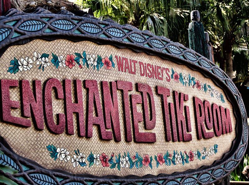 迪斯尼的Tiki室 库存照片
