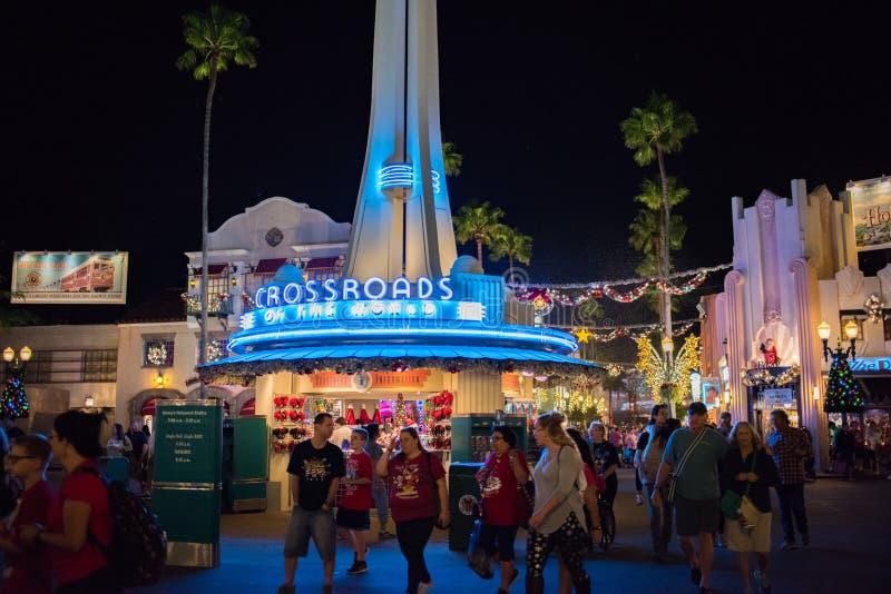 迪斯尼` s好莱坞演播室在奥兰多,佛罗里达 库存照片