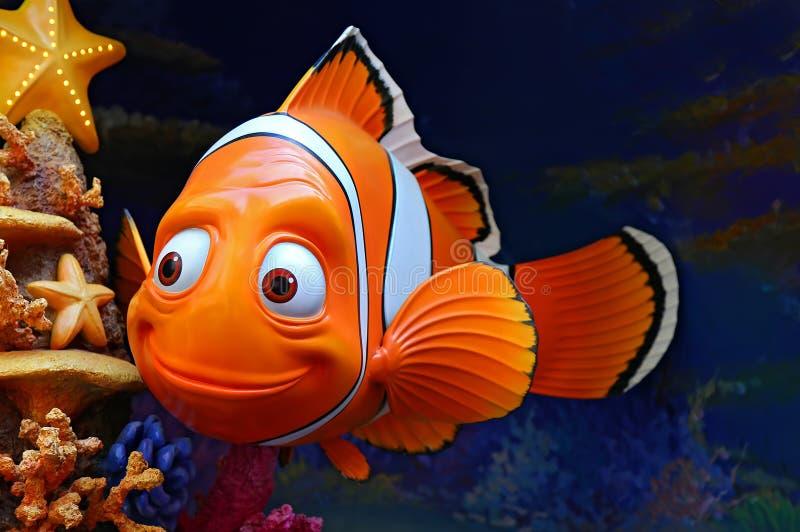 迪斯尼pixar发现的nemo字符 免版税库存照片