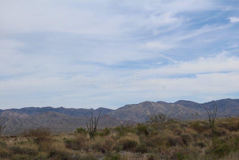 迷信山野荒地地区菲尼斯亚利桑那 免版税库存照片