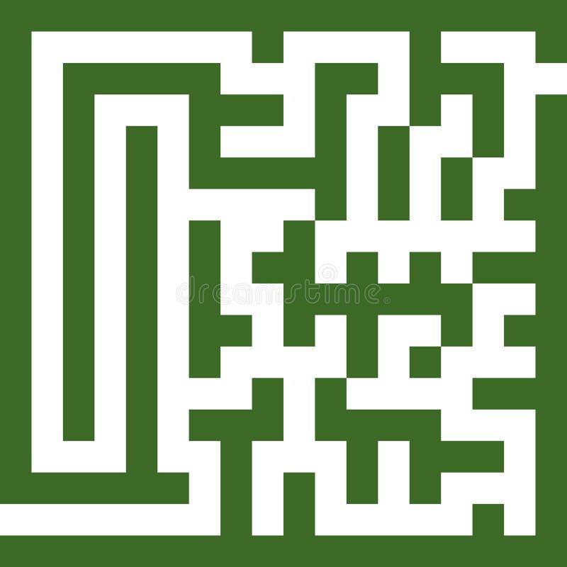 迷宫二 向量例证