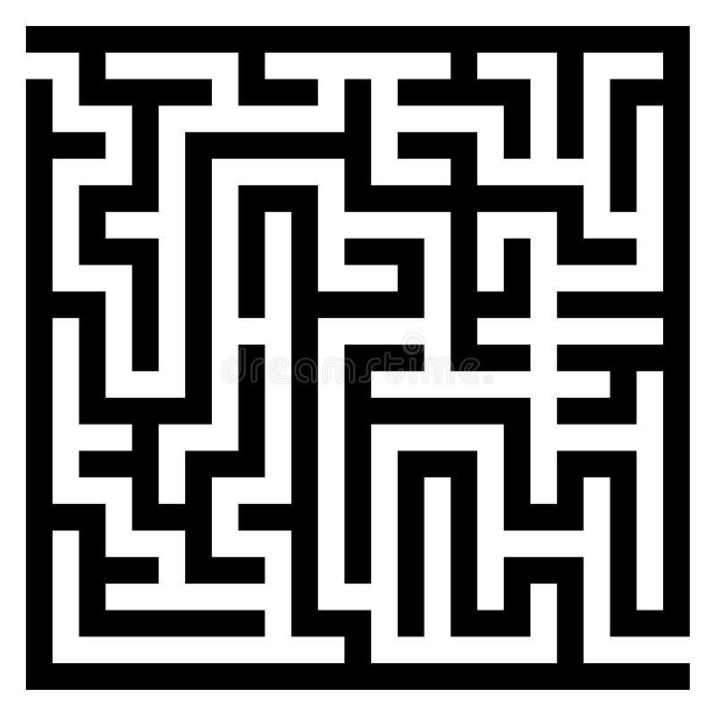 迷宫迷宫 皇族释放例证