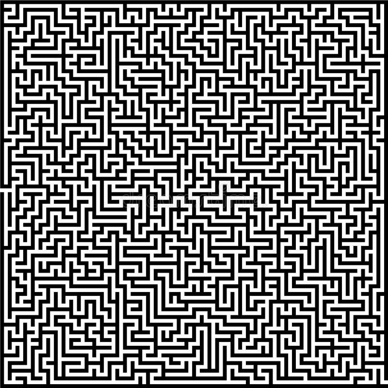 迷宫迷宫 库存例证