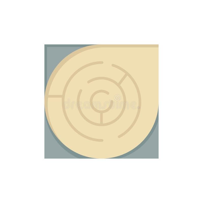迷宫,地图,迷宫,战略,样式平的颜色象 传染媒介象横幅模板 向量例证