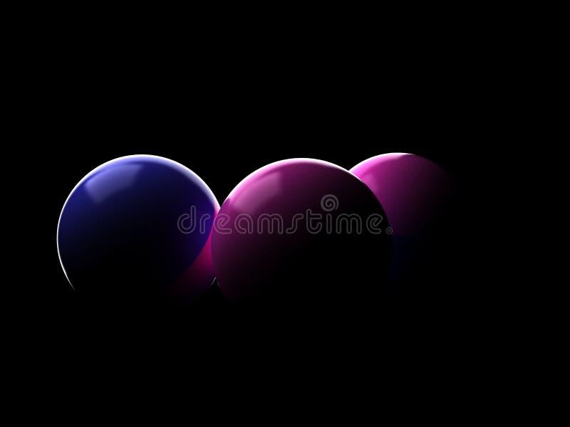 迷彩漆弹运动球 向量例证