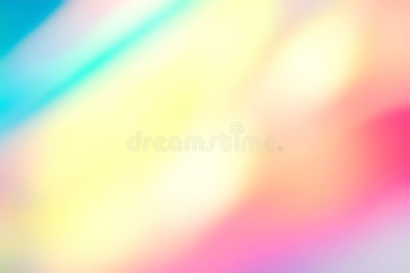 迷离全息照相的霓虹箔背景 库存照片
