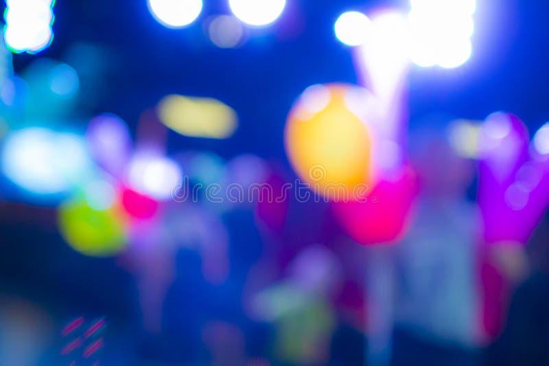 迷离背景由蓝色,红色,黄色,白色和绿色做成 免版税图库摄影