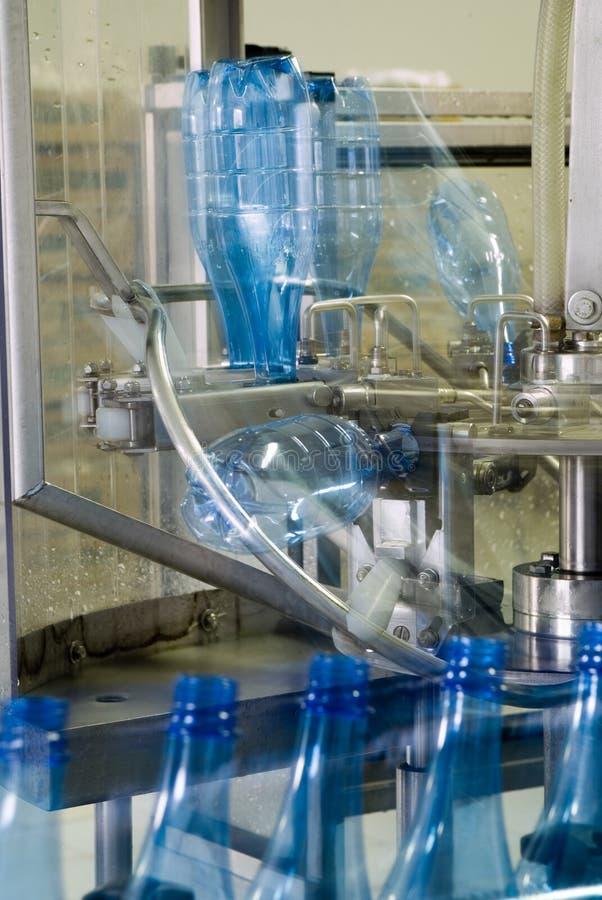 迷离设备行动生产水 免版税库存图片