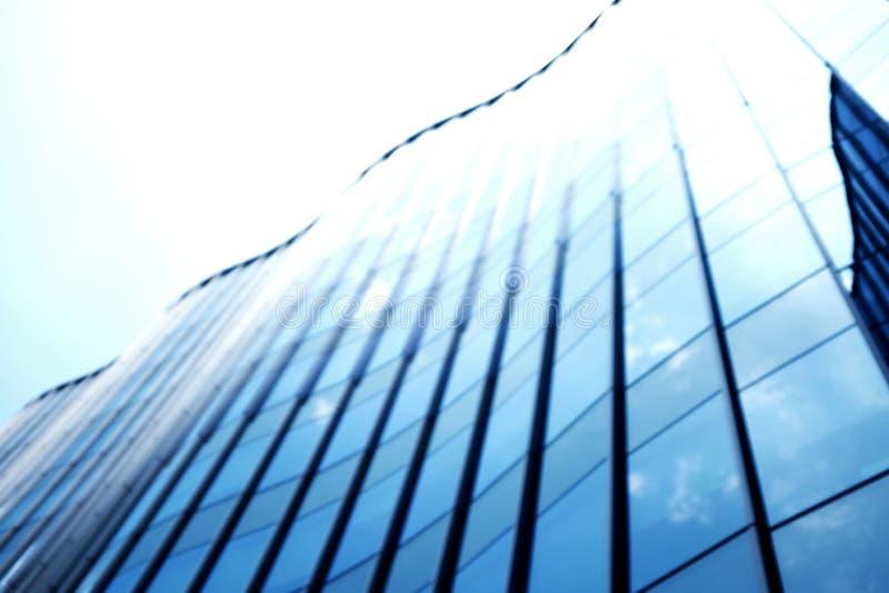 迷离blackground :特写镜头现代办公楼 与拷贝空间的大厦 库存照片